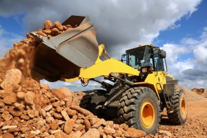 MHF Front End Loader Tipping Stone